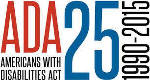 ADA25thAnniversaryLogo