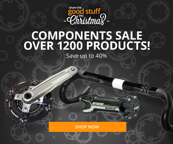 Save up to 40% off components sale over 1200 products + free delivery on orders over $80 at Wiggle.com.au
