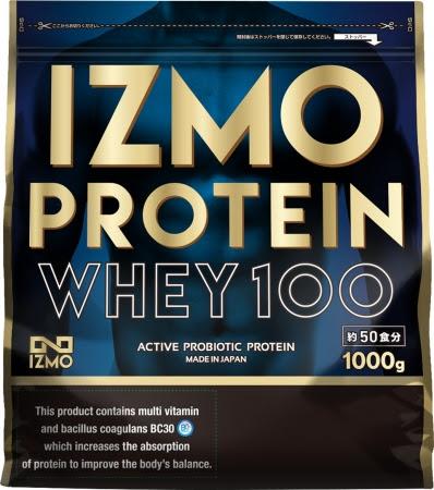 「IZMO プロテインホエイ100」