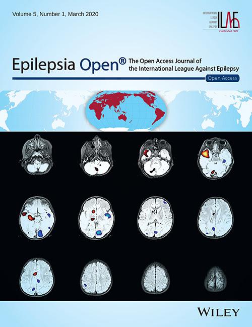Epilepsia Open                           Cover - 2020 no.3