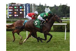 Fog of War breaks his maiden at Saratoga Race Course