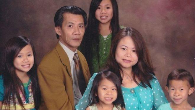 Ông Michael Phương Minh cùng gia đình tại Hoa Kỳ
