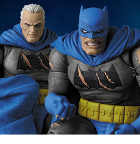 Batman: The Dark Knight Returns Triumphant MAFEX No.119 Batman