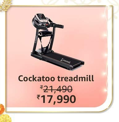 treadmill deals