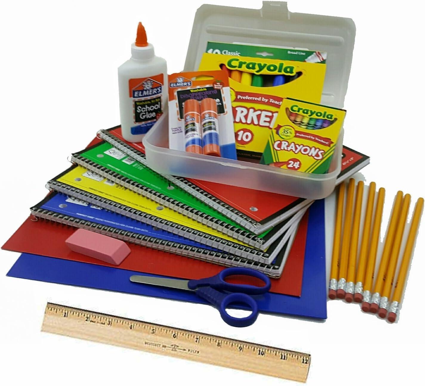 Amazon.com : Elementary School Essentials Back to School Supplies ...