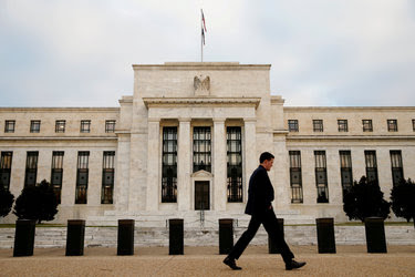 The Federal Reserve Bank in Washington. The Fed is expected to raise its benchmark interest rate on Wednesday for the first time since last December.
