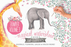 40% off! Magical Watercolors vol 3