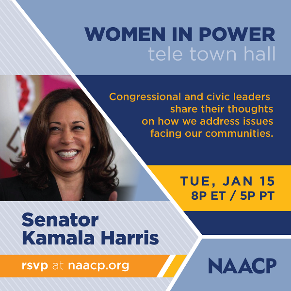 Women in power tele-town hall