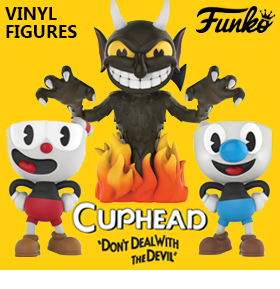 NEW CUPHEAD VINYL FIGURES