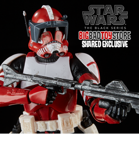 Star Wars: The Black Series Clone Commander Fox (The Clone Wars) BBTS Shared Exclusive