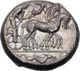 Beautiful Archaic tetradrachm of Syracuse