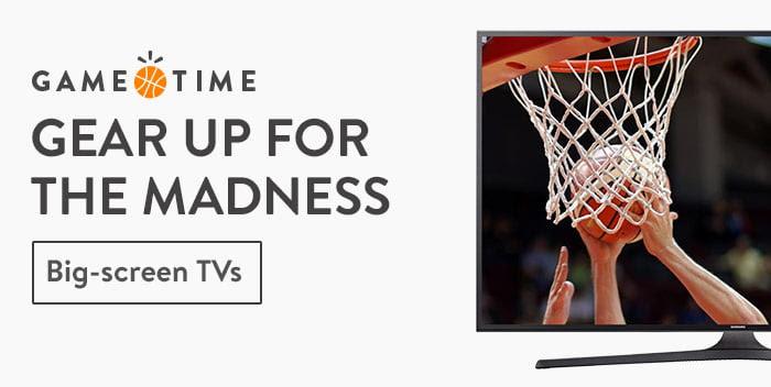 Big-screen TVs