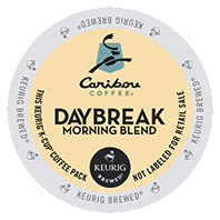 Caribou Daybreak Morning Blend Keurig®  K-Cup pods