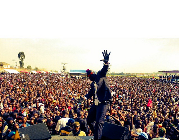DJ Benny D in Congo