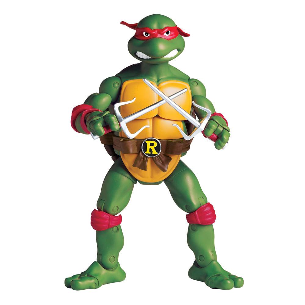 Tartarugas Ninja Figura Retro Raphael - Multikids