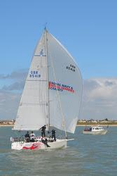 J/109 sailing Solent- Warsash Spring Series