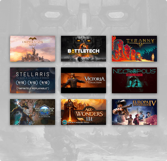 Humble Best of Paradox Interactive Bundle