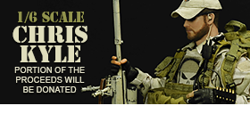 1/6 SCALE CHRIS KYLE FIGURES