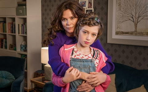 Anna Friel playing the mother of a transgender child in Butterfly which was on earlier this year