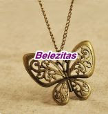 Colar Butterfly Vintage