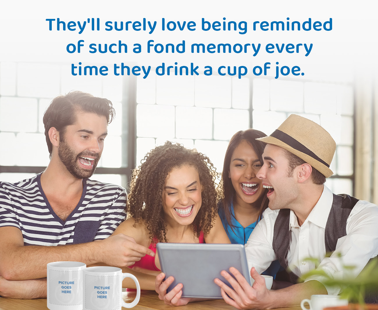 They'll surely love being reminded of such a fond memory every time they drink a cup of joe.