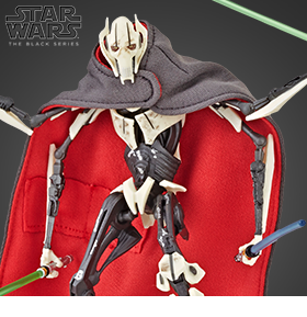 Star Wars: The Black Series 6 Deluxe General Grievous Fan/Ecomm Exclusive
