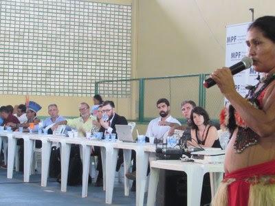 Em audiência em Itaituba, Ibama diz que aguarda posição definitiva da Funai sobre usina no Tapajós