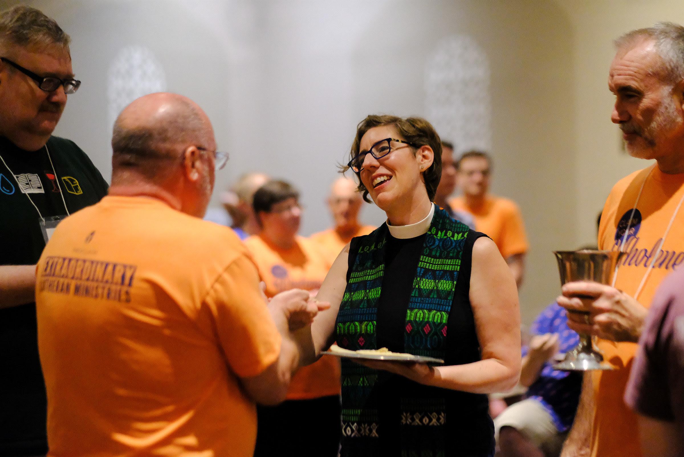 Rev. Lura Preaching