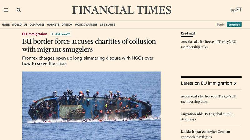 Le Financial Times confirme l'intox de Libération et Arte