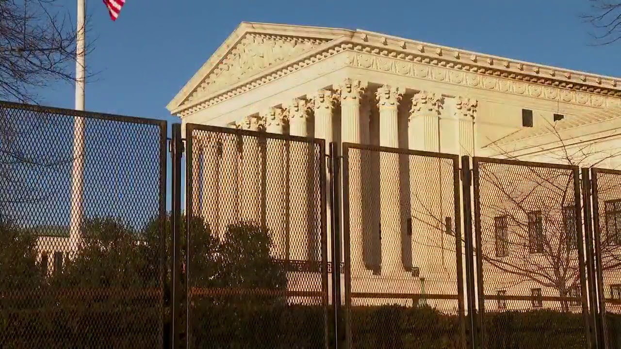 List of 2020 Election Fraud Cases Shows 81 Cases Total, 30 Still Active  Supreme-Court-Fence-Screen-Image-YouTube-01102020