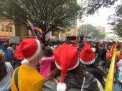 La Central Unitaria de Trabajadores subrayó que se trata de un canto por la defensa de los derechos de los colombianos.