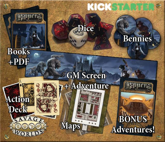 Savage Worlds Rippers Kickstarter