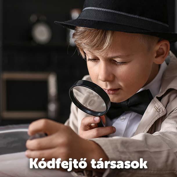 Kódfejtő társasjátékok!