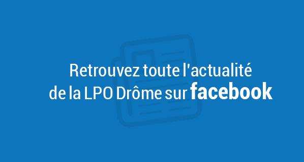 LPO Drôme sur facebook