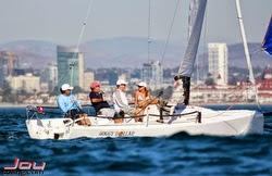 J/70 sailing off San Diego