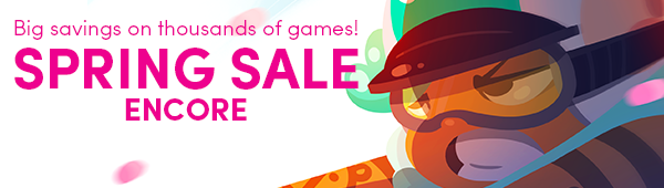 Humble Store Spring Sale Encore