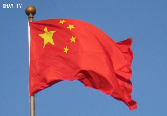 7. Trung Quốc,ý nghĩa quốc kì,lá cờ của các nước,những điều thú vị trong cuộc sống