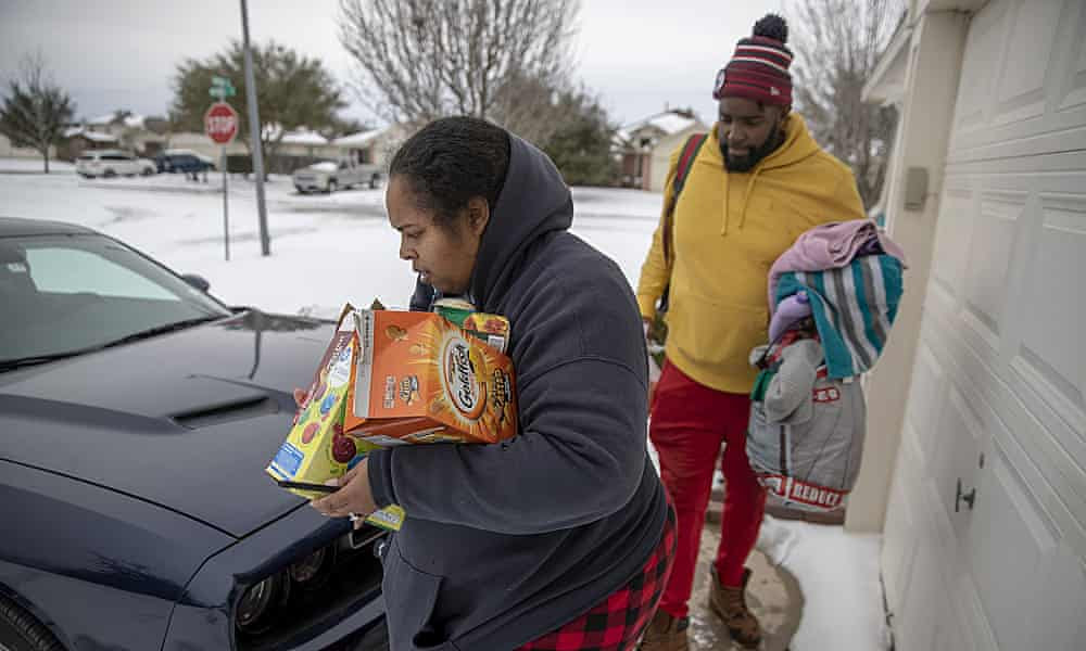 Texas faces dwindling food supplies amid Arctic conditions