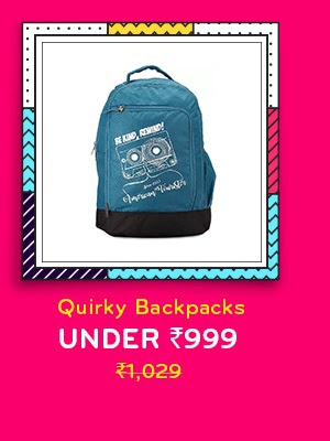 Quirky Backpacks