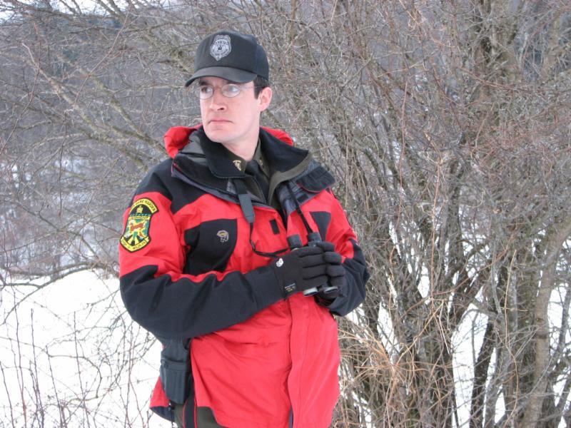 game warden on patrol