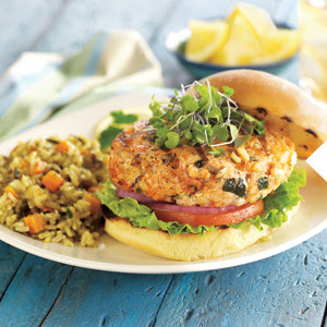 $2 off $6 in fresh salmon burgers