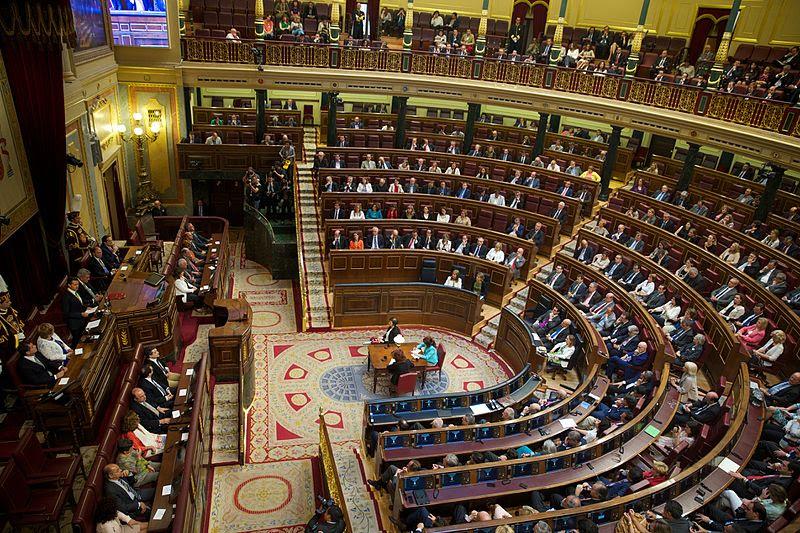 Sesion Solemne en el Congreso de los Diputados