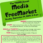 2014-09-07 3rd FreeMarket Poster