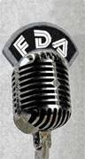 Microphone with FDA Logo