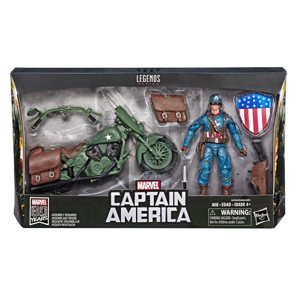 Image of Ultimate Marvel Legends Captain America