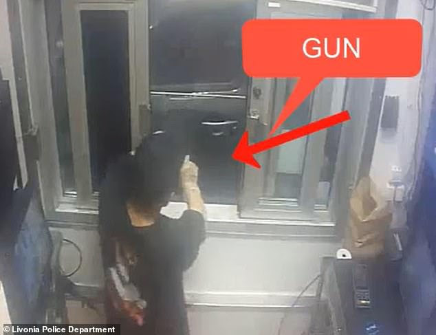 This Burger King employee threatened a drive-thru customer with a gun