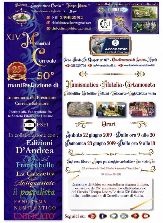 Collezionismo: XIV Memorial Correale – 22/23 Giugno 2019 Locandina%20XVI%20Memorial%20Correale