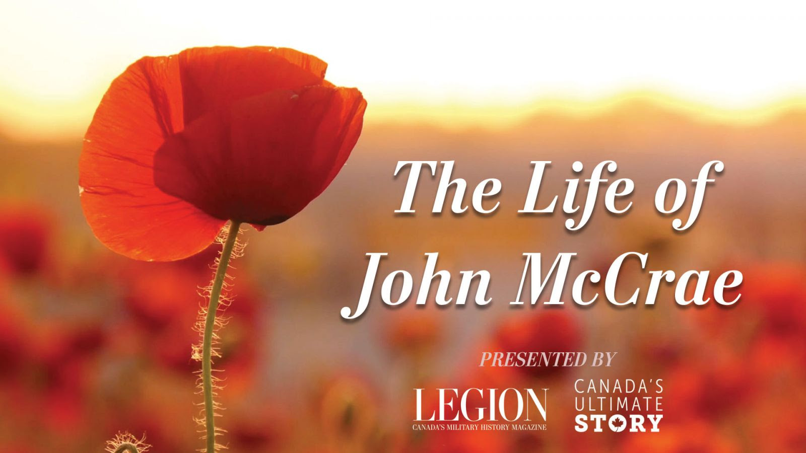 The Life of John McCrae