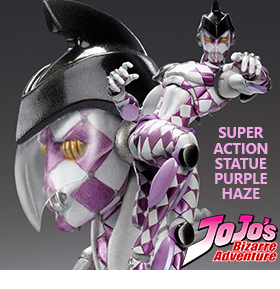 JOJO'S BIZARRE ADVENTURE: GOLDEN WIND PURPLE HAZE SAS