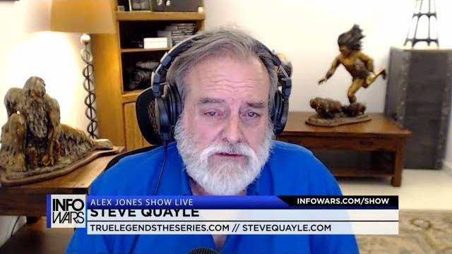 Steve Quayle Reveals Why Globalists Hate Christianity and US to Strike N. Korea (Alex Jones Show)